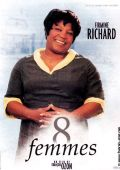"""Постер 6 из 19 из фильма """"8 женщин"""" /8 Frauen/ (2002)"""