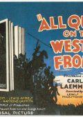 """Постер 13 из 21 из фильма """"На Западном фронте без перемен"""" /All Quiet on the Western Front/ (1930)"""