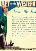 """Постер 19 из 21 из фильма """"На Западном фронте без перемен"""" /All Quiet on the Western Front/ (1930)"""