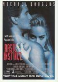 """Постер 6 из 10 из фильма """"Основной инстинкт"""" /Basic Instinct/ (1992)"""