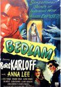 """Постер 1 из 2 из фильма """"Бедлам"""" /Bedlam/ (1946)"""