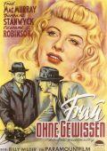 """Постер 1 из 20 из фильма """"Двойная страховка"""" /Double Indemnity/ (1944)"""