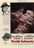 """Постер 7 из 20 из фильма """"Двойная страховка"""" /Double Indemnity/ (1944)"""