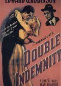 """Постер 9 из 20 из фильма """"Двойная страховка"""" /Double Indemnity/ (1944)"""