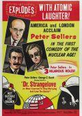 """Постер 9 из 14 из фильма """"Доктор Стрейнджлав, или как я научился не волноваться и полюбил бомбу"""" /Dr. Strangelove or: How I Learned to Stop Worrying and Love the Bomb/ (1964)"""