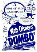 """Постер 10 из 16 из фильма """"Дамбо"""" /Dumbo/ (1941)"""