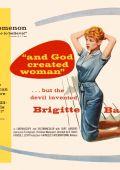 """Постер 1 из 13 из фильма """"И Бог создал женщину"""" /Et Dieu... crea la femme/ (1956)"""
