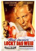 """Постер 2 из 13 из фильма """"И Бог создал женщину"""" /Et Dieu... crea la femme/ (1956)"""