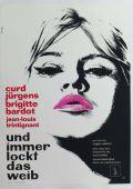 """Постер 9 из 13 из фильма """"И Бог создал женщину"""" /Et Dieu... crea la femme/ (1956)"""