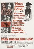 """Постер 23 из 26 из фильма """"Из России с любовью"""" /From Russia with Love/ (1963)"""