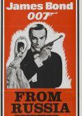 """Постер 7 из 26 из фильма """"Из России с любовью"""" /From Russia with Love/ (1963)"""