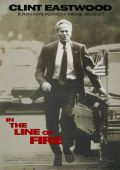 """Постер 2 из 5 из фильма """"На линии огня"""" /In the Line of Fire/ (1993)"""