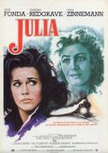 """Постер 1 из 5 из фильма """"Джулия"""" /Julia/ (1977)"""