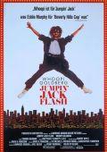 """Постер 3 из 4 из фильма """"Джек-попрыгун"""" /Jumpin' Jack Flash/ (1986)"""