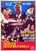 """Постер 17 из 23 из фильма """"На север через северо-запад"""" /North by Northwest/ (1959)"""