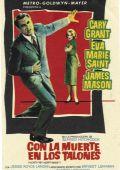 """Постер 22 из 23 из фильма """"На север через северо-запад"""" /North by Northwest/ (1959)"""
