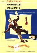 """Постер 10 из 23 из фильма """"На север через северо-запад"""" /North by Northwest/ (1959)"""