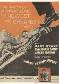 """Постер 12 из 23 из фильма """"На север через северо-запад"""" /North by Northwest/ (1959)"""