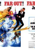 """Постер 22 из 22 из фильма """"На секретной службе Ее Величества"""" /On Her Majesty's Secret Service/ (1969)"""