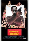 """Постер 16 из 22 из фильма """"На секретной службе Ее Величества"""" /On Her Majesty's Secret Service/ (1969)"""