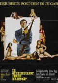 """Постер 9 из 22 из фильма """"На секретной службе Ее Величества"""" /On Her Majesty's Secret Service/ (1969)"""
