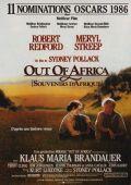 """Постер 3 из 7 из фильма """"Из Африки"""" /Out of Africa/ (1985)"""