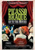 Пикассо и Брак идут в кино