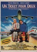 """Постер 6 из 6 из фильма """"Самолетом, поездом, машиной"""" /Planes, Trains & Automobiles/ (1987)"""