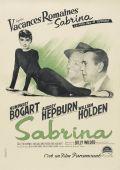 """Постер 3 из 20 из фильма """"Сабрина"""" /Sabrina/ (1954)"""