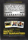 """Постер 4 из 5 из фильма """"Безопасность не гарантируется"""" /Safety Not Guaranteed/ (2012)"""