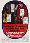 """Постер 4 из 5 из фильма """"За отдельными столиками"""" /Separate Tables/ (1958)"""
