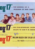 """Постер 6 из 11 из фильма """"Лагерь для военнопленных №17"""" /Stalag 17/ (1953)"""