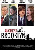 """Постер 2 из 2 из фильма """"Этим утром в Нью-Йорке"""" /The Angriest Man in Brooklyn/ (2013)"""
