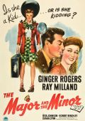 "Постер 2 из 5 из фильма ""Майор и малышка"" /The Major and the Minor/ (1942)"