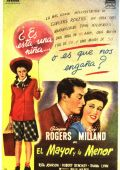 "Постер 5 из 5 из фильма ""Майор и малышка"" /The Major and the Minor/ (1942)"