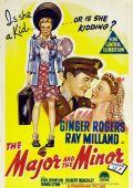 "Постер 1 из 5 из фильма ""Майор и малышка"" /The Major and the Minor/ (1942)"