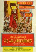 """Постер 13 из 20 из фильма """"Десять заповедей"""" /The Ten Commandments/ (1956)"""