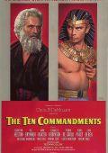 """Постер 15 из 20 из фильма """"Десять заповедей"""" /The Ten Commandments/ (1956)"""