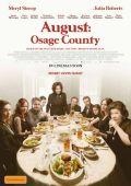 """Постер 4 из 6 из фильма """"Август"""" /August: Osage County/ (2013)"""
