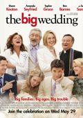 """Постер 4 из 7 из фильма """"Большая свадьба"""" /The Big Wedding/ (2013)"""