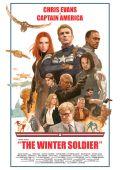 """Постер 23 из 24 из фильма """"Первый мститель: Другая война"""" /Captain America: The Winter Soldier/ (2014)"""