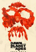 "Постер 10 из 12 из фильма ""Планета обезьян: Революция"" /Dawn of the Planet of the Apes/ (2014)"