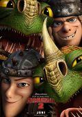 """Постер 6 из 21 из фильма """"Как приручить дракона 2"""" /How to Train Your Dragon 2/ (2014)"""