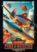 """Постер 1 из 9 из фильма """"Самолеты: Огонь и вода"""" /Planes: Fire & Rescue/ (2014)"""