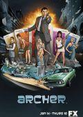"""Постер 2 из 10 из фильма """"Арчер"""" /Archer/ (2009)"""