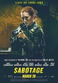 """Постер 12 из 13 из фильма """"Саботаж"""" /Sabotage/ (2014)"""