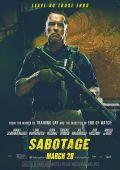 """Постер 10 из 13 из фильма """"Саботаж"""" /Sabotage/ (2014)"""