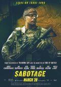 """Постер 9 из 13 из фильма """"Саботаж"""" /Sabotage/ (2014)"""