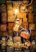 """Постер 2 из 16 из фильма """"Семейка монстров"""" /The Boxtrolls/ (2014)"""