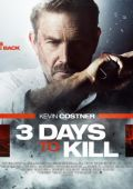 "Постер 4 из 4 из фильма ""3 дня на убийство"" /3 Days to Kill/ (2014)"